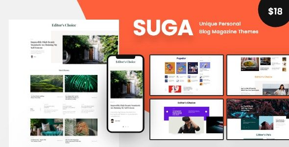 Suga V1 1 Magazine And Blog Wordpress Theme Opensource Linux Software Programming Coding Blog Themes Wordpress Magazine Theme Wordpress Wordpress Blog