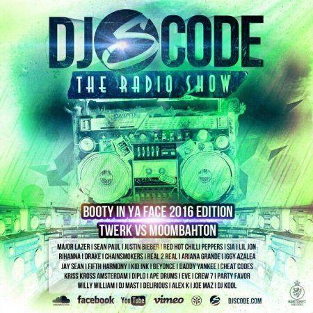 DJ S-CODE - The Radio Show (Booty In Ya Face 2016 Edition)  Tracklist: 01 I'm Back 2016 Introduction (Short Version prod. by DJ S-CODE) 02 Jay Sean - My Love Go (Jay Sean Shout Out Edit) 03 Partybreak - Give It Up 04 Major Lazer - Light It Up Remix (DJ S-CODE Hype Edit) 05 Sak Noel feat. Sean Paul - Trumpets Remix 06 Partybreak - Muchacho 07 AV8 #Booty #Deejay #Dj #DjSCode #Face #Mix #Mixtape #Radio #Show #Musik #Hiphop #House #Webradio #Breakzfm