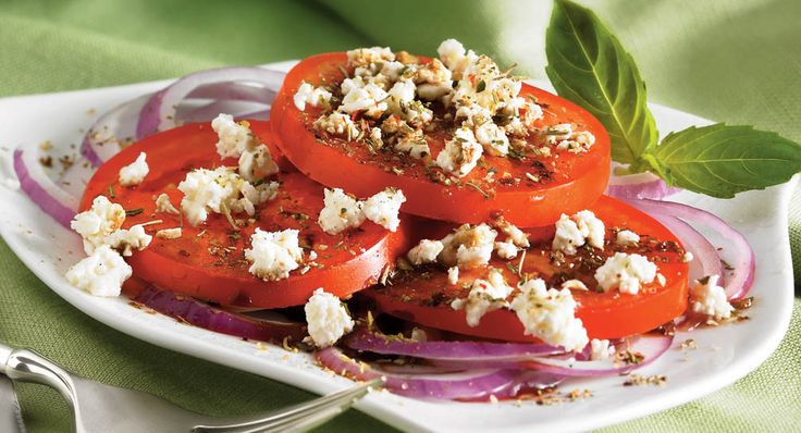 Fresh Summer Tomato and Onion Salad - Everyday Cooking - McCormick.com ...