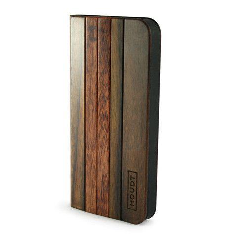 iPhone 5/5S Black Houdt Padauk & Rose Wood Flip Case  #iPhone5s #iPhone5 #iPhoneCovers #iPhoneWoodenCovers