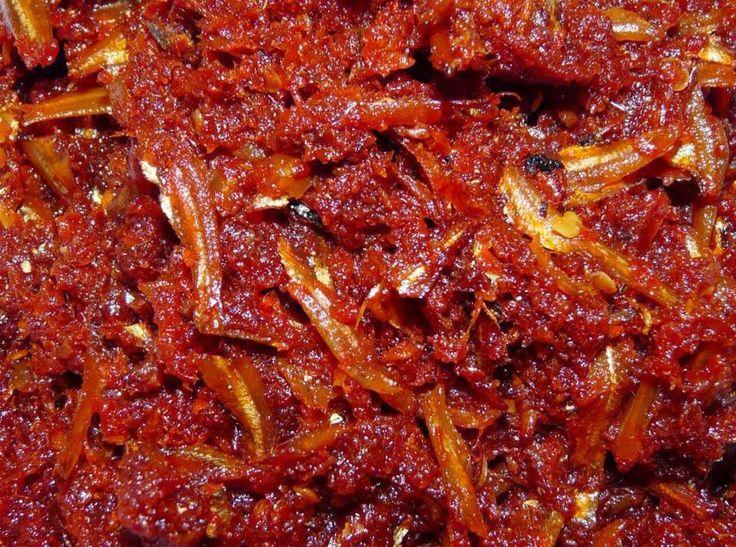 Singapore Home Cooks: Ikan bilis sambal by Jill Chua