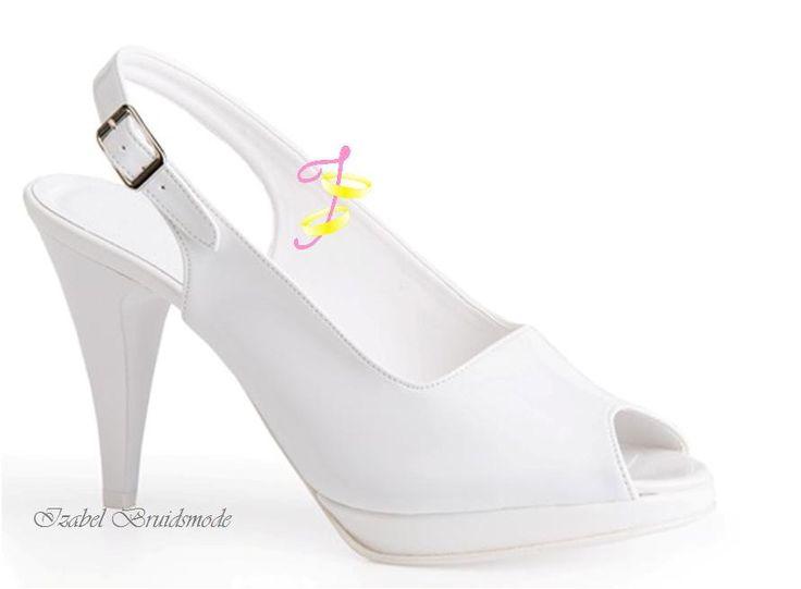 Bruids sandalen met hoge hak AM14