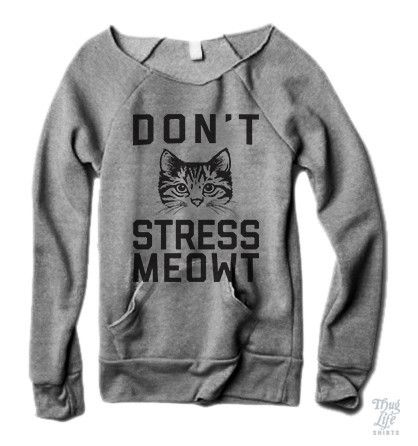 Don't Stress Meowt Sweater