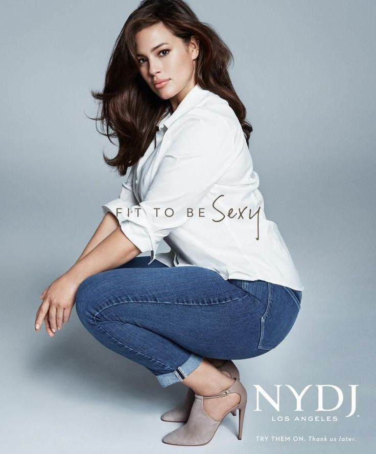 It's no surprise then that NYDJ's 2016 campaign stars Christie Brinkley, Lana Ogilvie, Bridget Moynahan, and Ashley Graham, models and actresses who make up a multigenerational crew any woman would want to chill with.