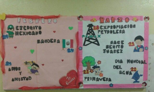 27 best images about febrero on pinterest valentine for Deportes para un periodico mural