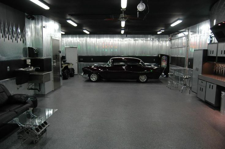 ultimate man cave garage - photo #20