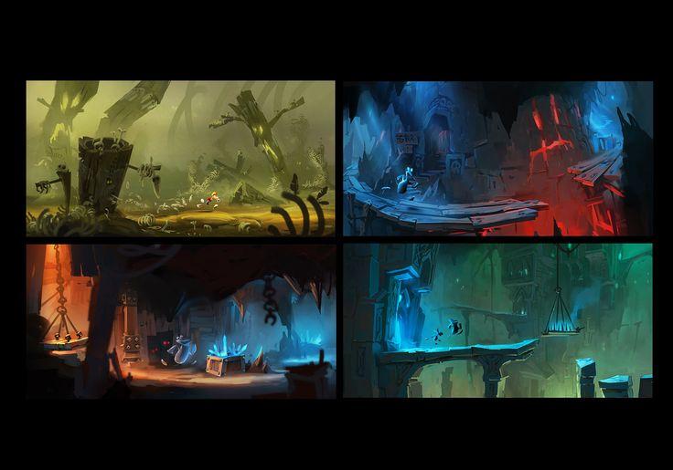 Rayman Legends, Jean-Brice Dugait on ArtStation at http://www.artstation.com/artwork/rayman-legends