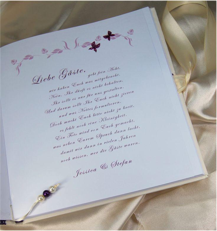 Hochzeit Gästebuch Sprüche