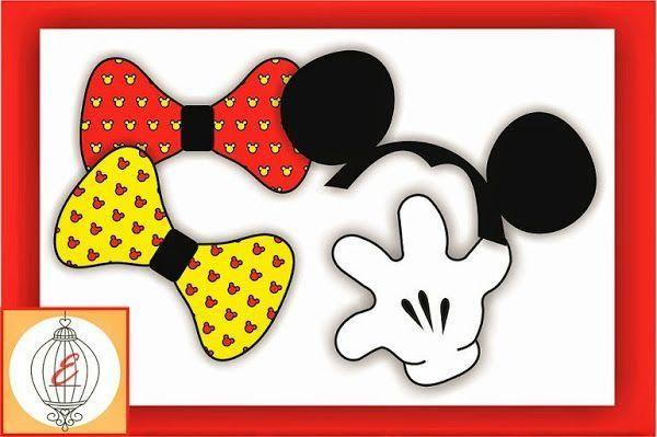 Kit Imprimible para Cumpleaños muy especiales: Mickey y Minnie Mouse