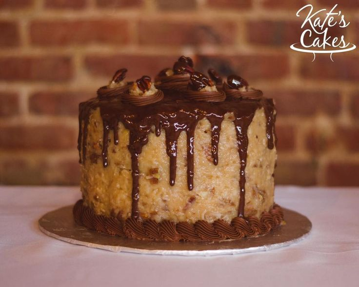 German Chocolate Grooms Cake. Pensacola, Florida. Kate's Cakes Pensacola