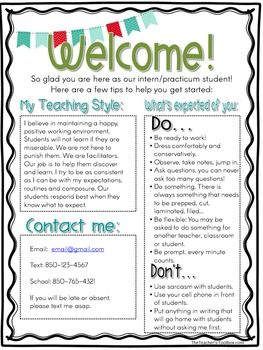 25+ best ideas about Teacher welcome letters on Pinterest ...