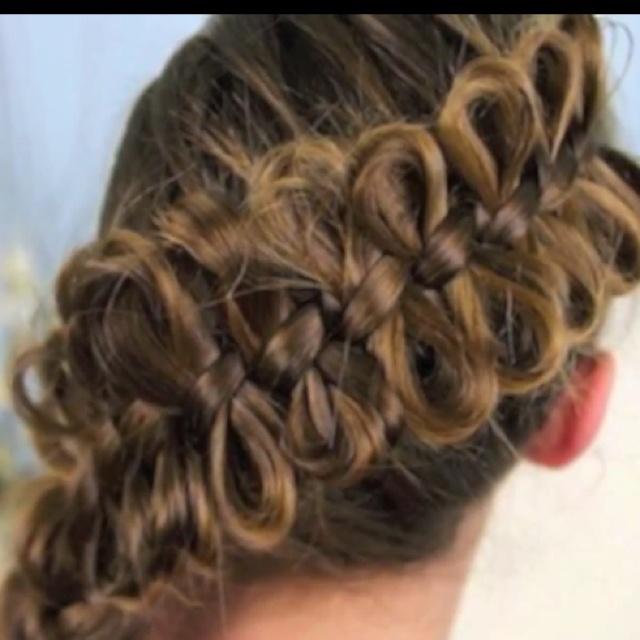 Bow braid  Hair  Hair styles Cute braided hairstyles Hair designs