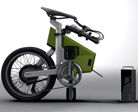 Electric folding bike!