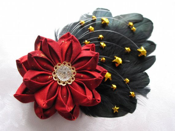 Children of the Nebula Kanzashi Flower Star by MountainMusings