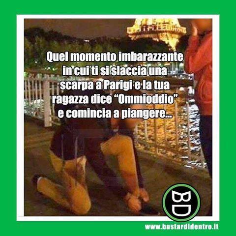 Momento imbarazzante! Tagga i tuoi amici e #condividi #bastardidentro #matrimonio #scarpa www.bastardidentro.it