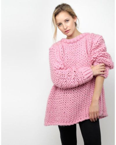 Wool And The Gang | Pink Wonderwool Sweater | Lyst