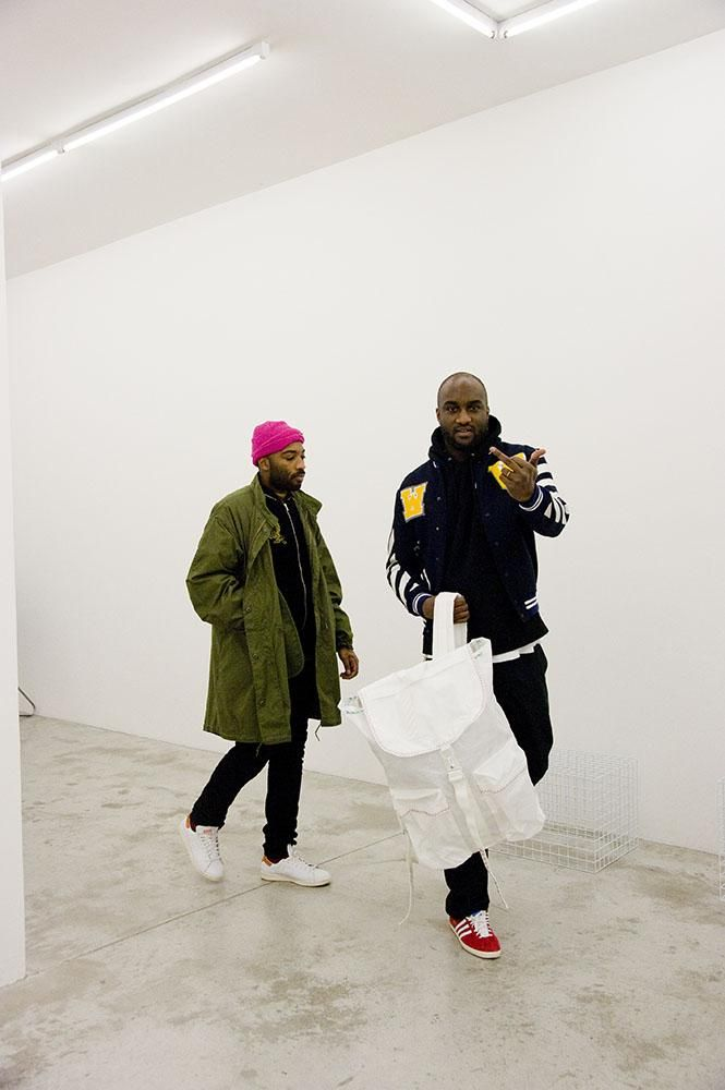 "newageshandis: ""off—white: ""Virgil Abloh x Asap Bari "" """