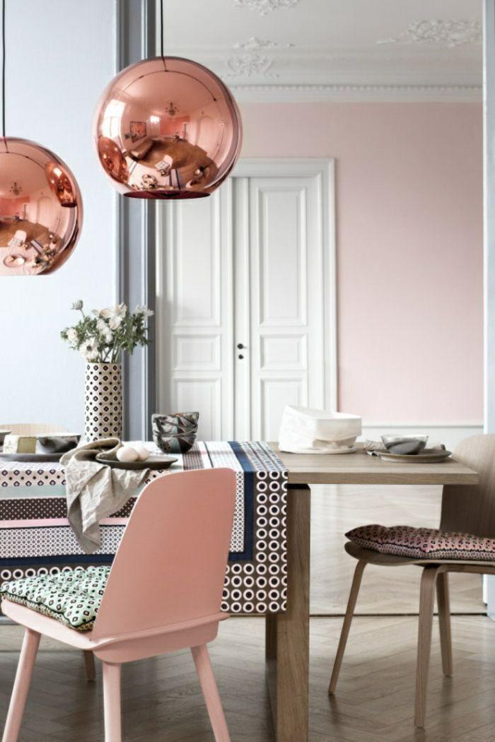 40 Ideen Fur Eine Wunderschone Dekoration In Korallenfarbe Decorationsejourcouleur Dekor Haus Deko Altrosa Wandfarbe Wandfarbe