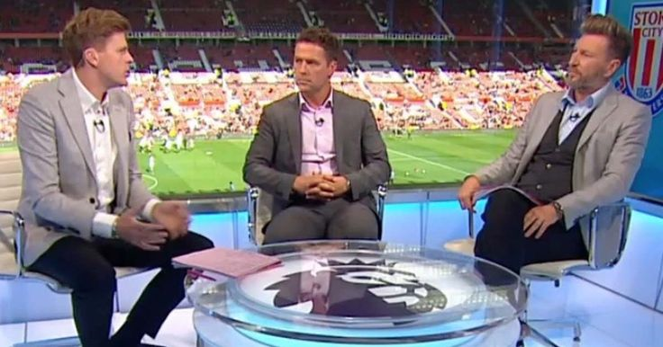 Michael Owen and Robbie Savage involved in hilarious argument following Manchester United's draw