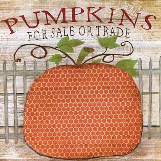 Pumpkins For Sale Poster Print by Tava Studios - Item # VARPDX17546 - Posterazzi