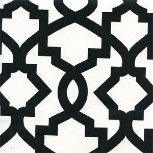 Sheffield Shadow Black Contemporary Drapery Fabric - SW48083 - Fabric By The Yard At Discount Prices