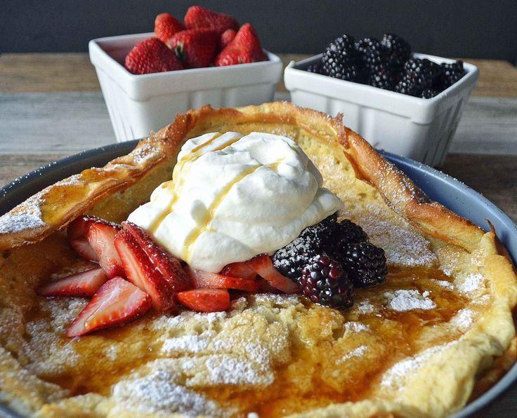 Dutch Baby Puff Pancake | Modern Honey