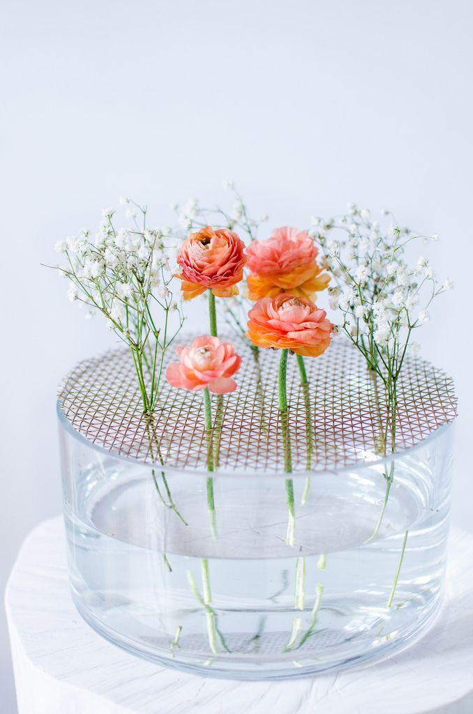 DIY Summer Flower Vase   Atilio
