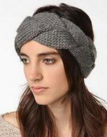 Braided Knit Headwrap $13.99