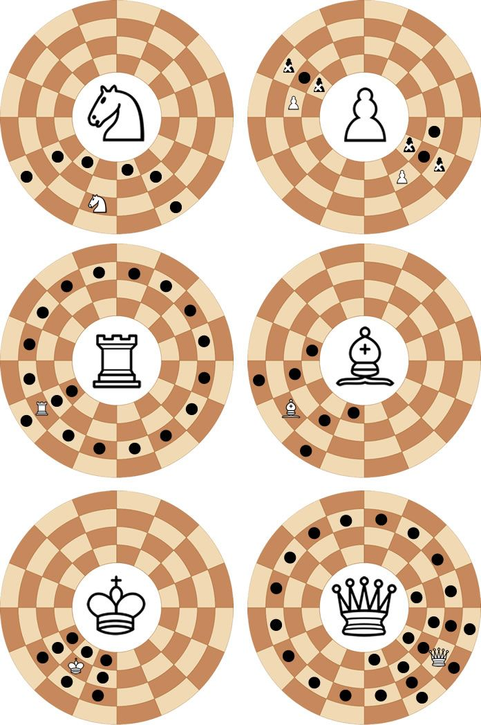 Modern Circular Chess: play online in 3D or 2D vs computer or friends www.jocly.com/#/play/circular-chess