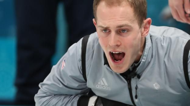 Great Britain's men's curling team are out of the Pyeongchang Winter Olympics after losing their tie-breaker 9-5 against Switzerland.  Kyle Smith's rink, who had to win to secure a place in the semi-finals later on Thursday, led 4-1 after the fourth end and 5-4 after the eighth.  But Switzerland scored a five-point stone in the ninth end to set up a semi-final against Sweden.