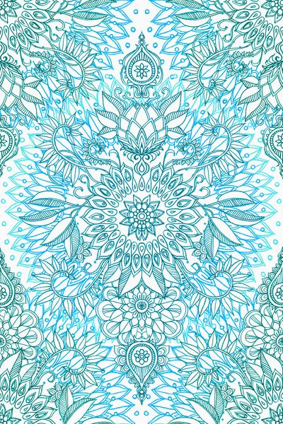 http://society6.com/product/turquoise-blue-teal--white-protea-doodle-pattern_print#1=45