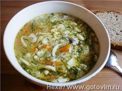Суп затируха. Фотография рецепта