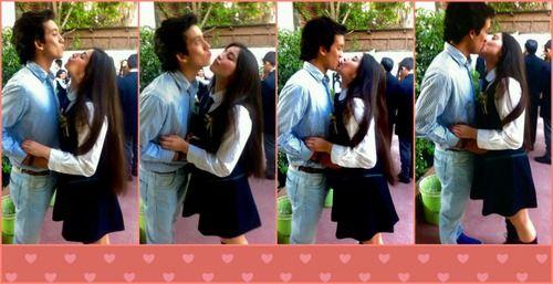 Imagen de amor, boyfriend, and kiss