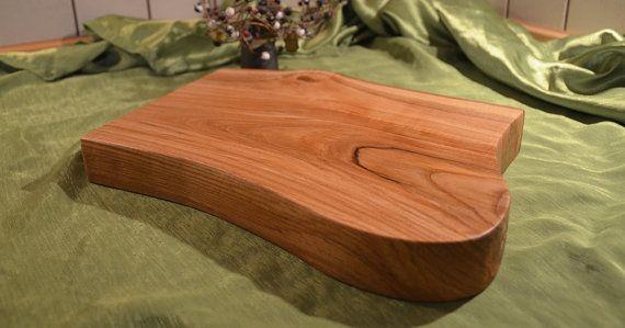 Live edge cutting board  live edge wood  ash wood  by KubuHandmade