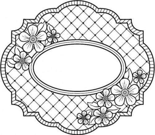 Sue Wilson Designs - Cling Stamp - Camilla Trellis  $9.50