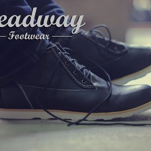 sepatu casual formal headway true black