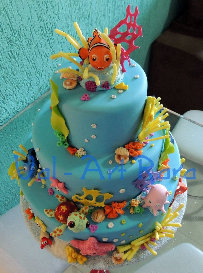17 Best Images About Under The Sea Cake Ideas On Pinterest