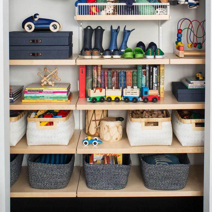 Kidsu0027 closets should have adjustable shelves that