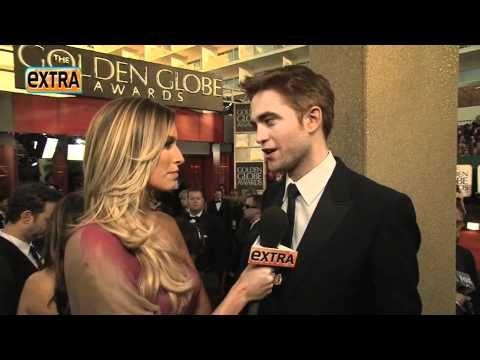 EXTRA interview w/ robert pattinson GOLDEN GLOBES 2011