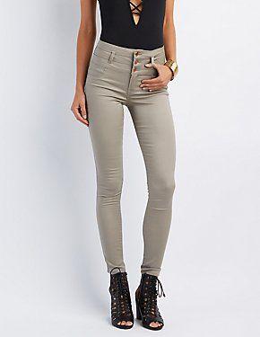 Refuge Hi Waist Skinny Jeans #CharlotteLook