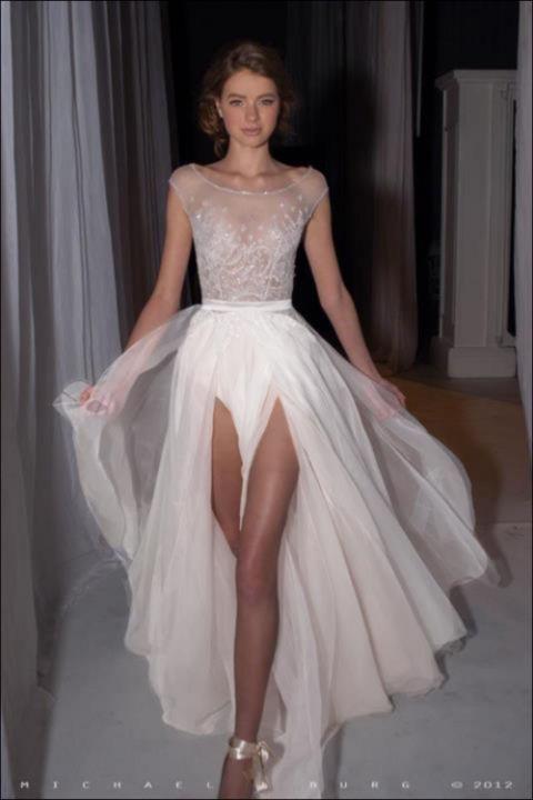 via Thigh High Splits / Wedding Style Inspiration / LANE (PS follow The LANE on instagram: the_lane)