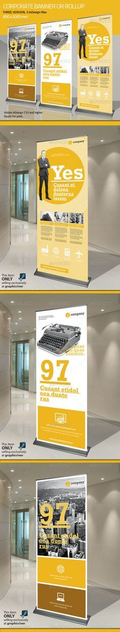 Corporate Banner or Rollup Vol 5                                                                                                                                                                                 Mais