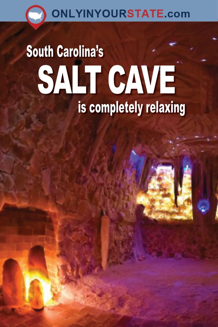 Travel | South Carolina | Salt Cave | Spa | Relaxation | Rejuvenation | Places To Visit | Unique Attractions | US Travel