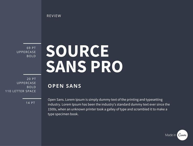 59 best font combinations images on pinterest