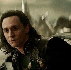 Love this gif of Loki.