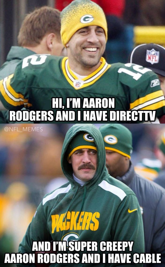 Hilarious Aaron Rodgers Green Bay Packers Memes Sportsmemes Packers Memes Packers Funny Green Bay Packers