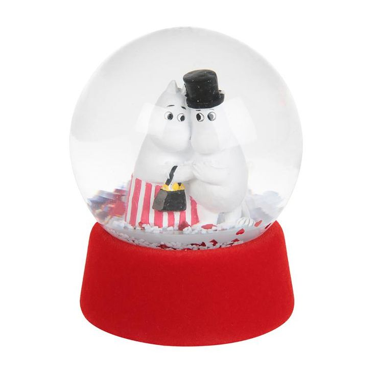 Moominmamma and Moominpappa Snowglobe by Martinex - The Official Moomin Shop
