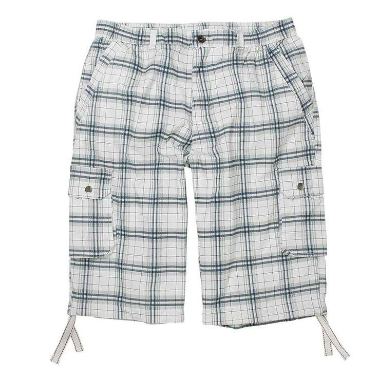 Cargo Bermuda Shorts Herren XXL Creme Antra