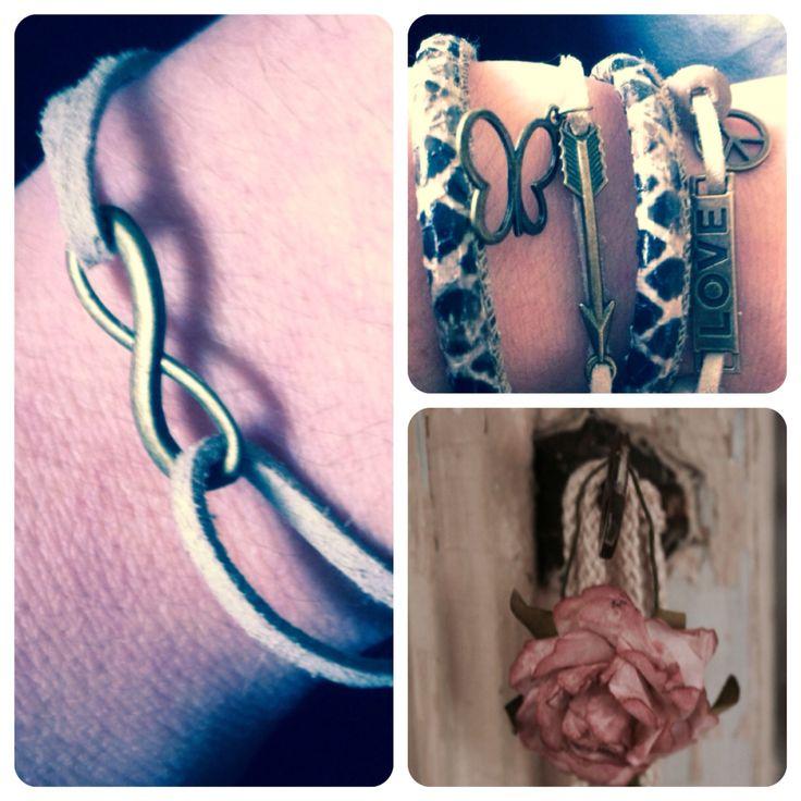 """Wikkel armband """" snake """""""