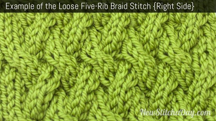 Loose End Stitches Knitting : The 796 best images about Knit - Scrumptious Stitches on Pinterest Ribs, Kn...